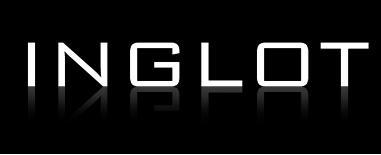 Eyeliner Inglot: fiolet / turkus / granat
