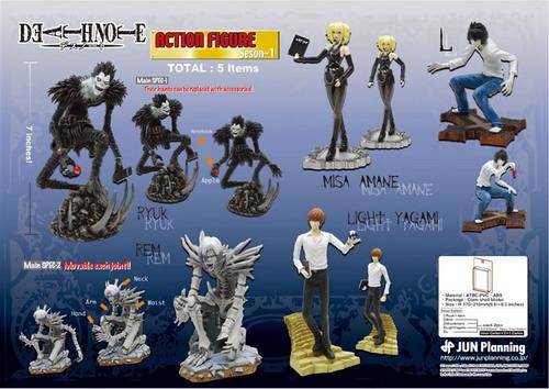 Figurki Death Note