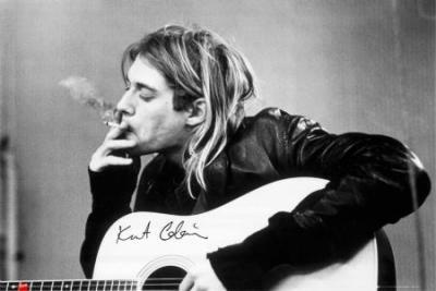 Kurt Cobain - Nirvana - plakat 91,5x61cm