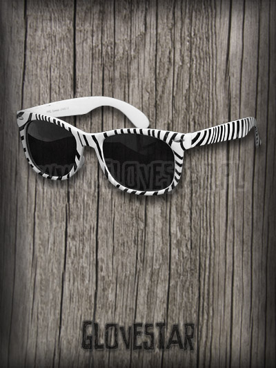 Okulary w zebrę :)