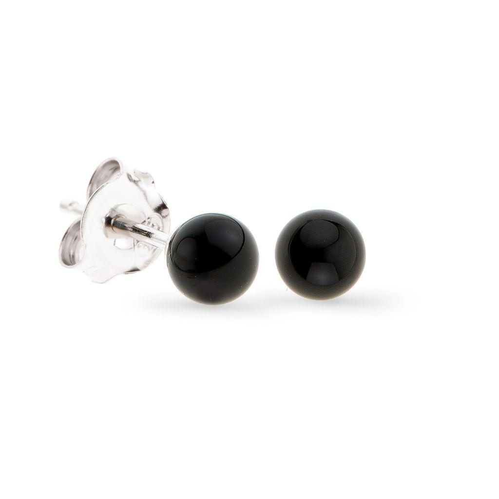 Kolczyki czarne