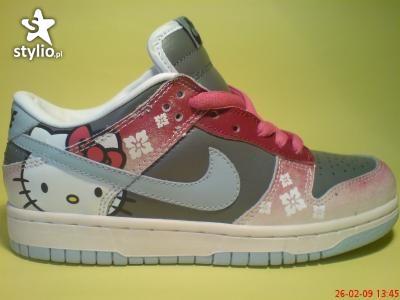 Buty Nike HEllo KiTTy ;p