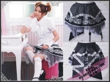 Mini spódniczka z kokardą RQ-BL