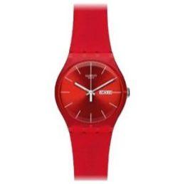 Zegarek czerwony swatch