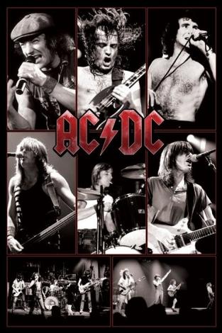 AC/DC (Live) - plakat