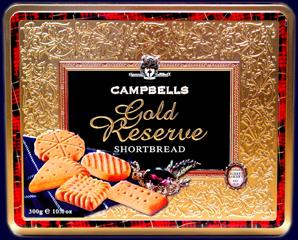 Campbells Gold Reserve - Ciasteczka maślane