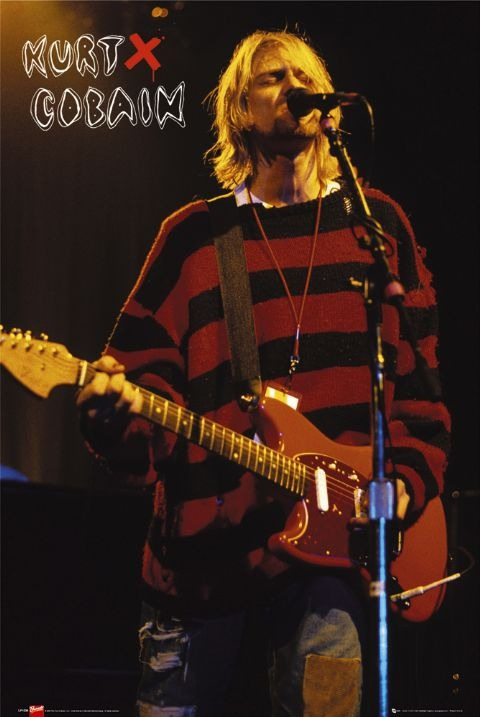 Plakat Kurt Cobain