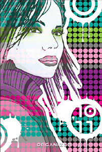 Kalendarz 10/11 B6 Girl Folia Lux