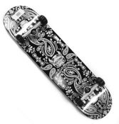 Deskorolka Speed Demons Bandana Black 7'5