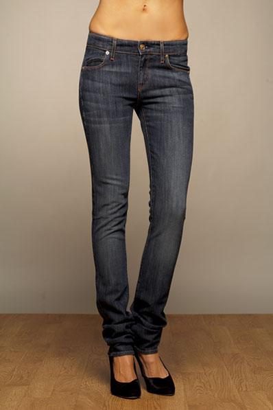 Rich & Skinny Sleek Skinny Jean niebieskie