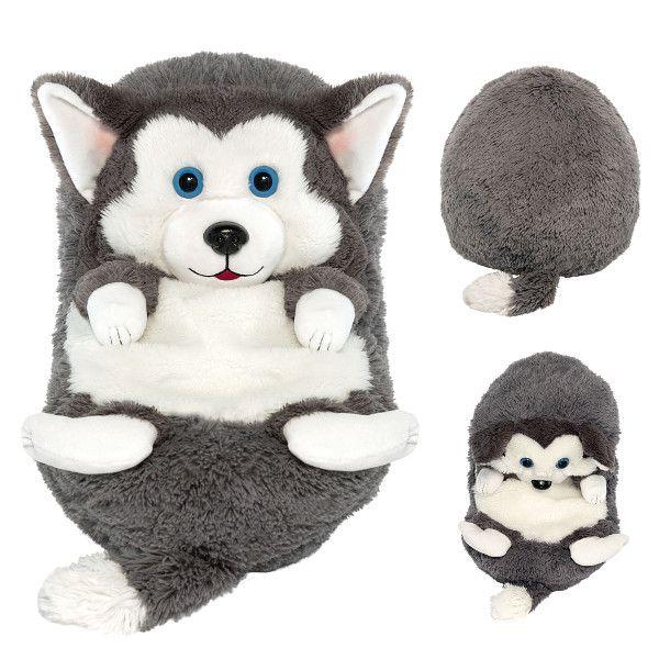Hide away pets, Husky Syberyjski, maskotak, 18 cm