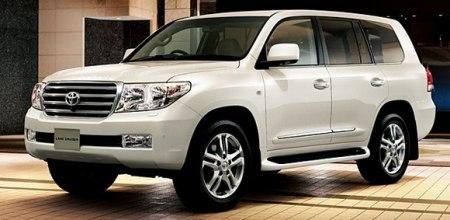 Drugie autko :) Toyota Land Cruiser v8