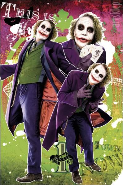 Plakat z Jokerem :)