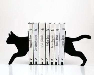 Podpórka do książek - Kot