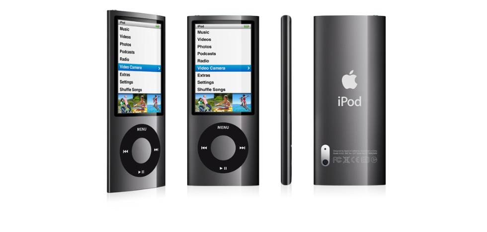 iPod nano 5 generacji-czarny