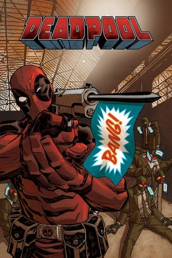 Marvel Deadpool Bang - plakat
