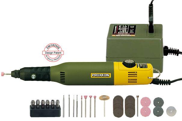 Proxxon - Zestaw do modelarstwa Micromot 50/E (28 515) + pedał nożny FS (28 700)