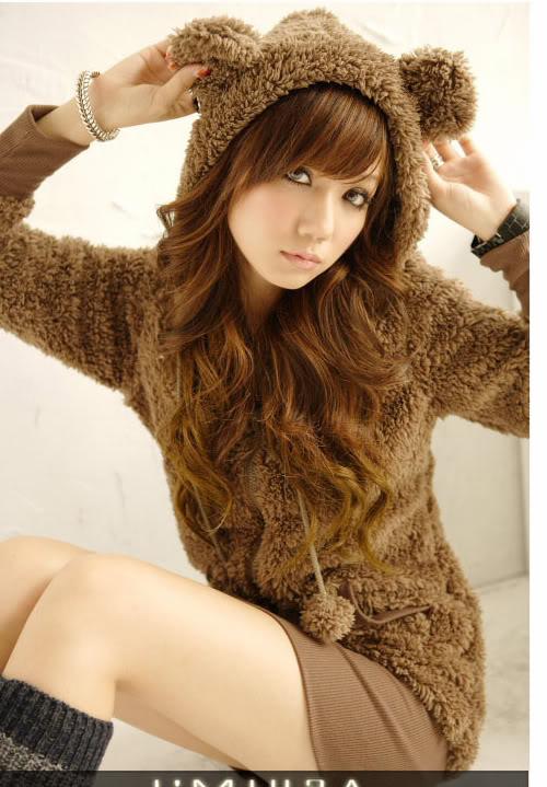 Japan Style Bluza Miś