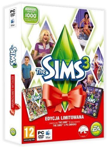 The Sims 3 Edycja Limitowana Świąteczna = The Sims 3 + The Sims 3 Po Zmroku (dodatek)