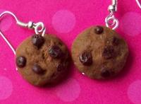 Kolczyki ciasteczka