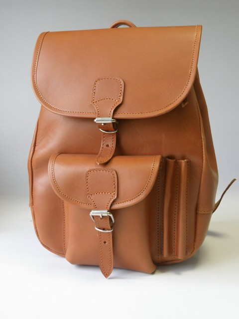 Plecak juchtowy, plecak skórzany 0004