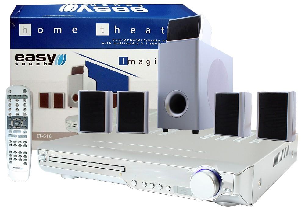Kino Domowe EASYTOUCH ET-616 DIVX/DVD 5.1