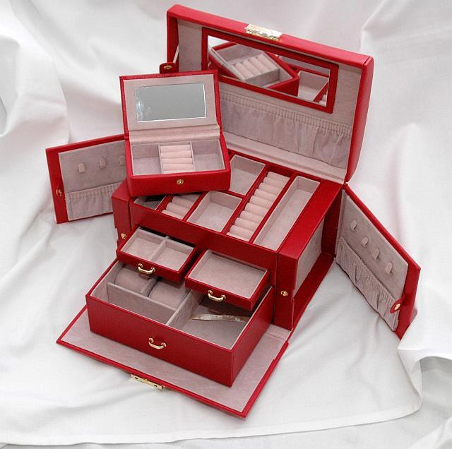 Duża szkatułka na biżuterię