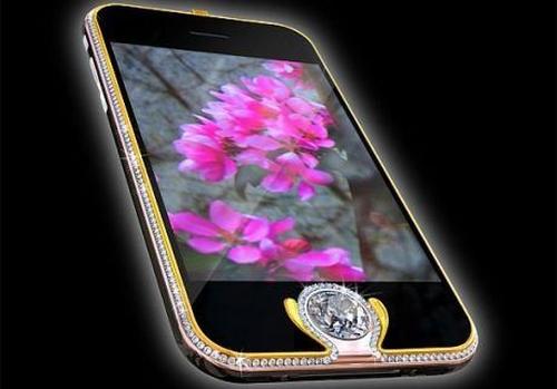 Diamentowy telefon touch