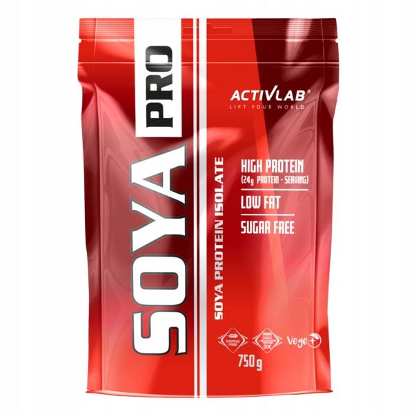 Activlab Soya Pro - 750g truskawka