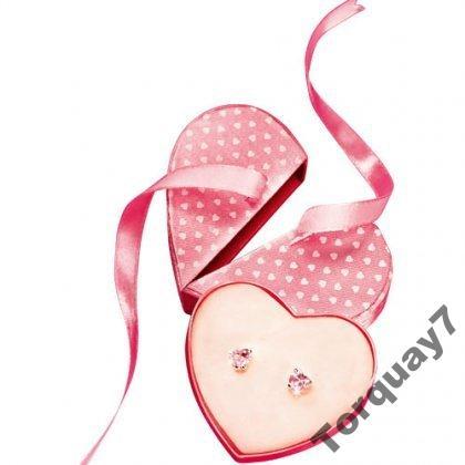 Kolczyki serca Avon
