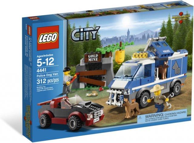 LEGO (4441) Samochód dla Psów Policyjnych
