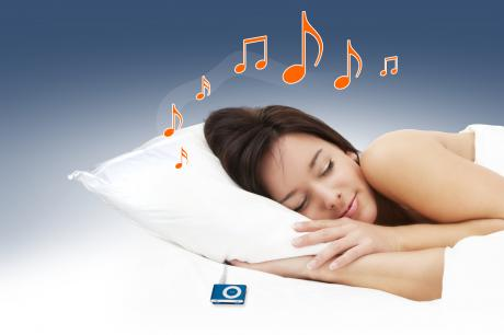 muzyczna poduszka