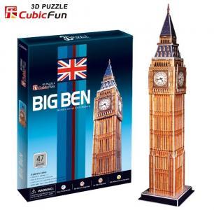 Puzzle 3D CubicFun - Zegar Big Ben