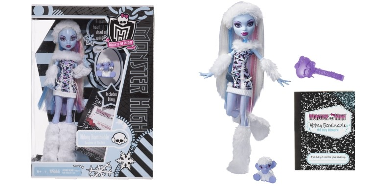 lalka Monster High Abbey Bomianble