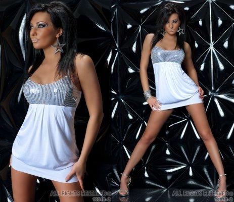 Super Seksowna Sukienka Z Cekinami