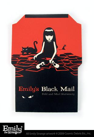 Black Mail Stationery