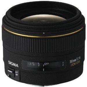 Sigma 30 mm F1.4 Pentax