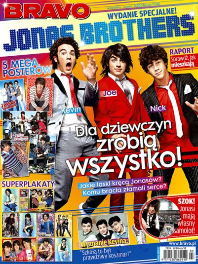 super gazeta Jonas brothers