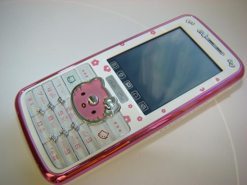 Telefon Hello Kitty.