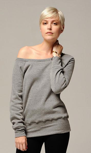 Bluza/sweter z odkrytym ramieniem
