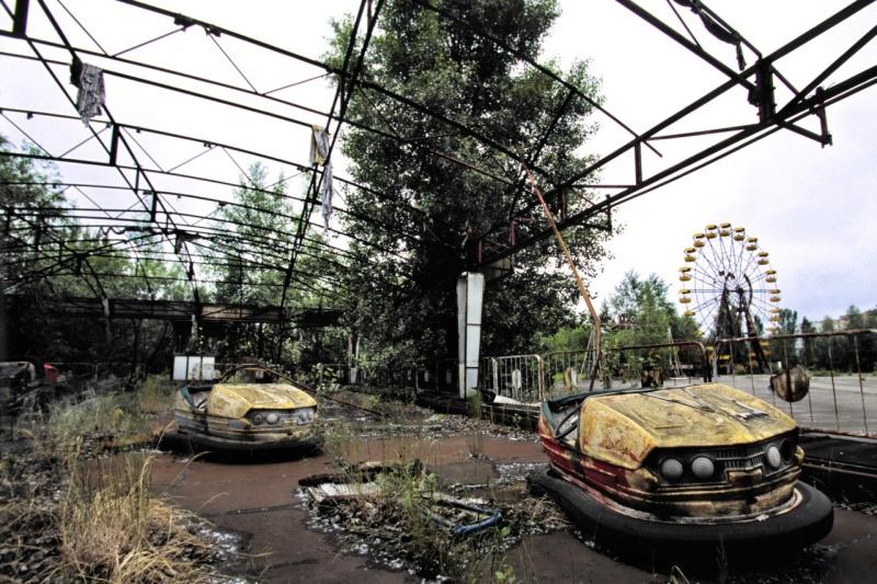 Zwiedzanie Czarnobyla