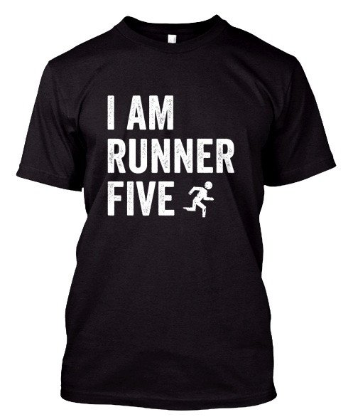 I Am Runner 5 - Athletic T-Shirt