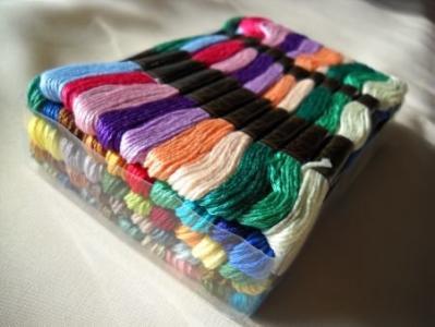 Mulina mix kolorów kolory 50 sztuk, 8m/szt.