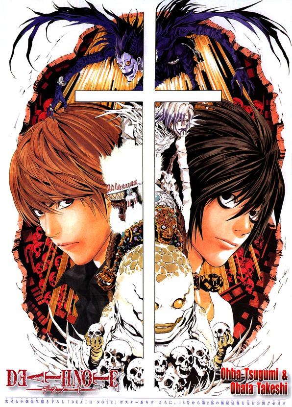 13 tomów mangi Death Note