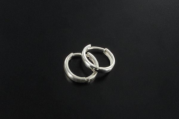 kolczyki srebrne kółeczka