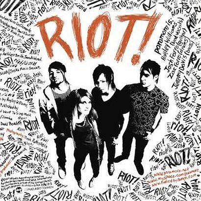 Płyta Paramore - Riot!